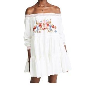 Free People Sunbeam Mini Dress Medium